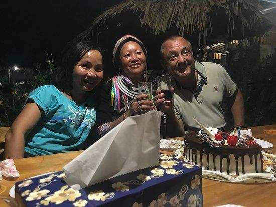 Quan Ba, Việt Nam: Chúc mừng sinh nhật khách