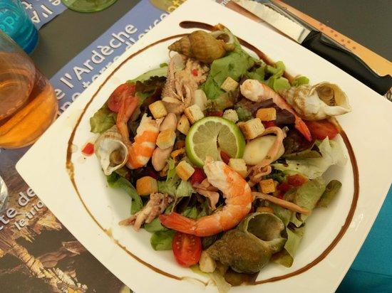 Terre et Mer: Salade de la mer