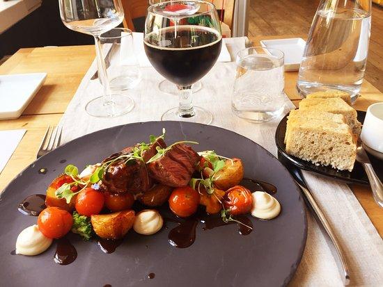 Fiskars, Finland: steak