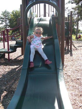 Walker City Park: slide