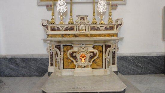 Chiesa di santo Stefano: Altar lateral