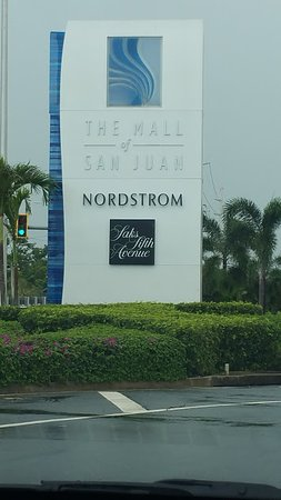 This is an upscale mall close to the airport in San Juan Puerto Rico.