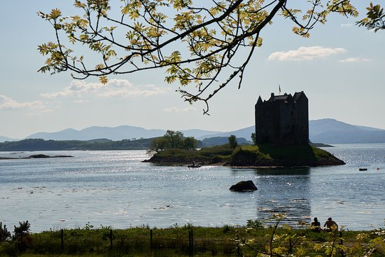 Appin, UK: castle from the main land