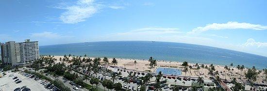 A nice clean beach.