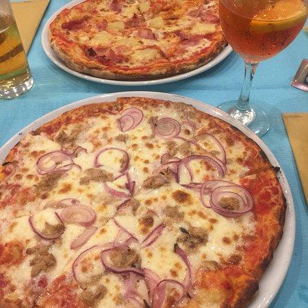 Eenvoudig maar top pizza's