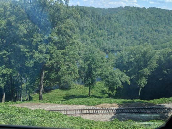 Etowah, TN: View from train