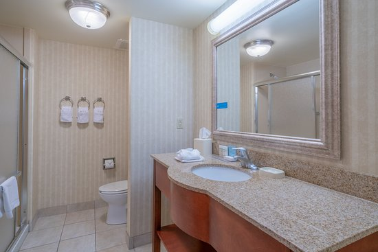 Hampton Inn Elkins: Single King Bathroom