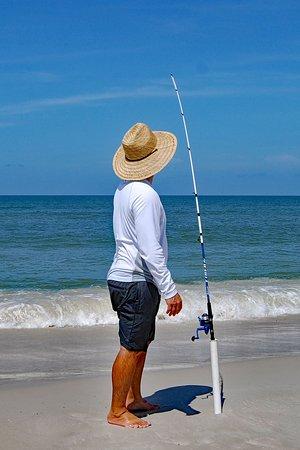Cape San Blas: surf fishing