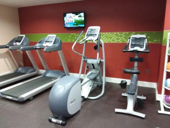 Clyst Honiton, UK: Sala fitness