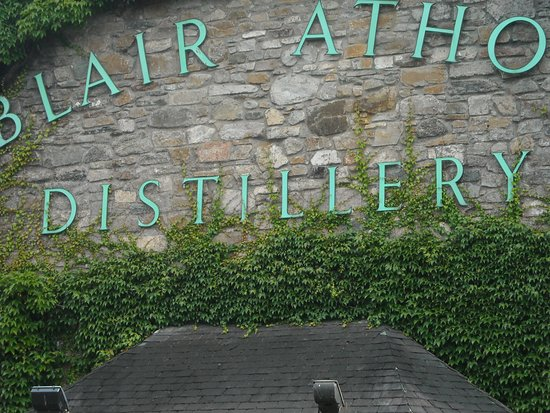 Blair Athol Distillery: Entrance