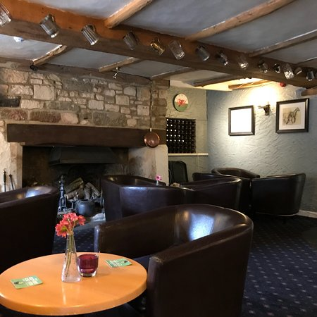 North Nibley, UK: Our beautiful bar & restaurant here at the Black Horse August 2018