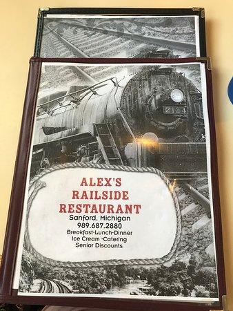 Sanford, MI: menu