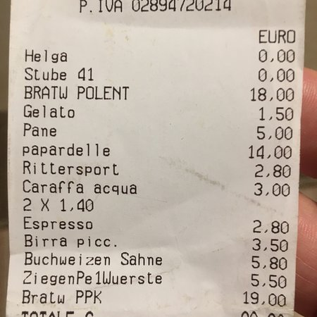 Prezzi fuori dal normale