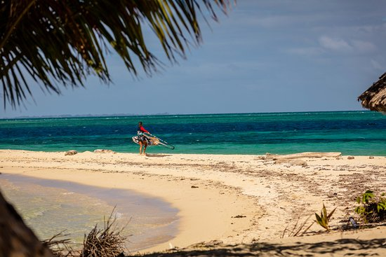 Leleuvia Island, فيجي: The starting area for Wind- and Kitesurfing at Leleuiva