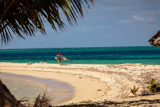 Leleuvia Island, Fidschi: The starting area for Wind- and Kitesurfing at Leleuiva