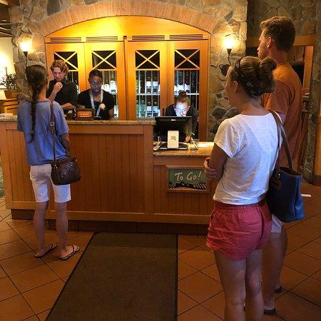 California, Мэриленд: Olive Garden!