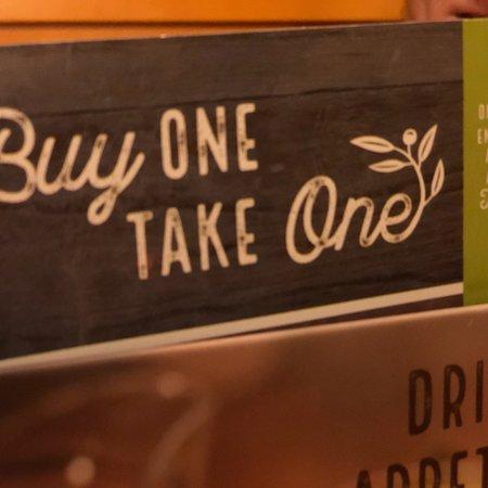 California, MD: Olive Garden!