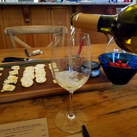 Healdsburg, CA: The ZO Wines winery