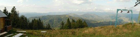 Slavs'ke, Ukraina: Гора Тростян
