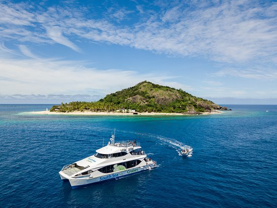 Denarau Island, Fiji: South Sea Cruises - Tiger V