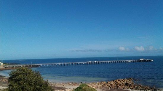 Port Victoria, Australia: Great Jetty for fishing