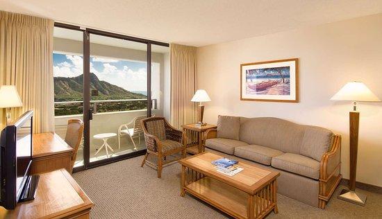 Aston Waikiki Sunset 2 Bedroom Diamond Head View Picture