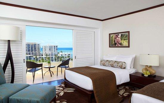 Lotus Honolulu at Diamond Head - Ocean View Room