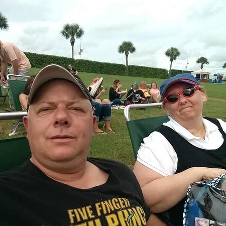 Myself and the wife at Concert - Picture of The MidFlorida