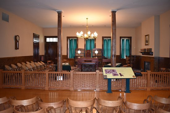 Fort Smith National Historic Site: JUDGE PARKER'S COURTROOM