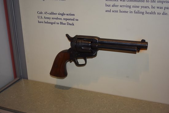Fort Smith National Historic Site: BLUE DUCK'S PISTOL
