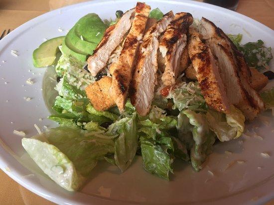 Diego's Spirited Kitchen: Chicken Caesar salad