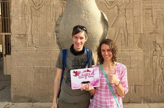 Excursion d'une journée de Louxor à Edfu et Kom Ombo se terminent à Assouan : Day tour from Luxor to Edfu and Kom Ombo end in Aswan
