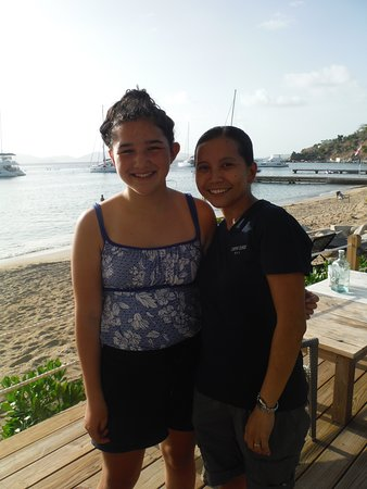Cooper Island: Lauren will take good care of you!