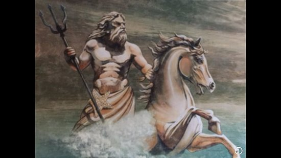 Mt. Olympus Villages: Poseidon Painting