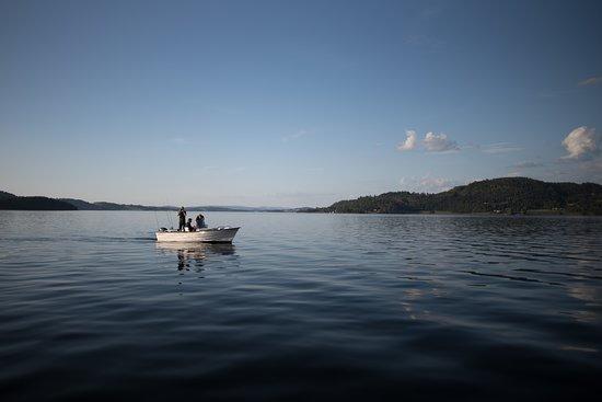 Inderoy Municipality, Norveç: Boat fishing