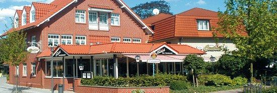 Zeven, Germany: Terasse hotel Central