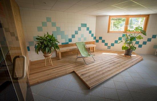 Chapelle-des-Bois, Frankrike: espace détente avec sauna et hammam