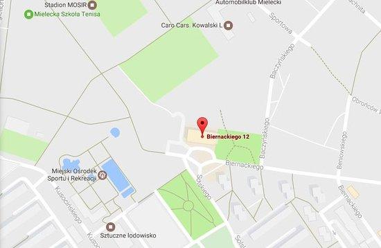 Mielec, Polonia: Map
