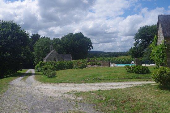 Langoelan, França: vue du domaine