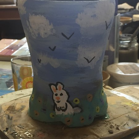 Eastnor Pottery & The Flying Potter