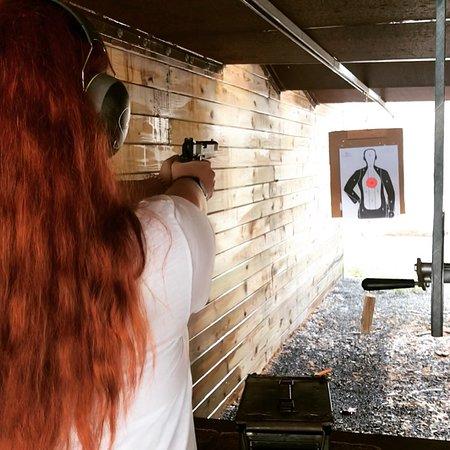 Henryville, Πενσυλβάνια: Target practice!