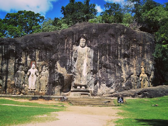 Uva Province, Sri Lanka: Buda on the rock