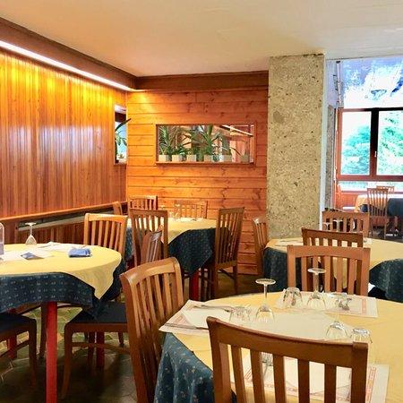 Sella Nevea, Ιταλία: Sala da pranzo