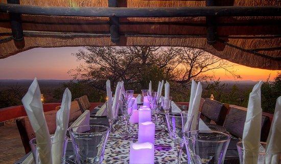Marken, South Africa: Private dinner