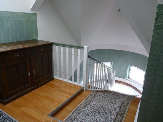 Waldenburg, Germany: Espace escalier