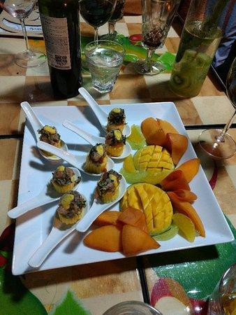 Tulua, Colombia: Deliciosos platos del Chef
