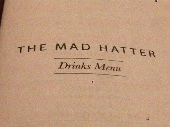 Drinks menu - Picture of The Mad Hatter, Edinburgh - TripAdvisor