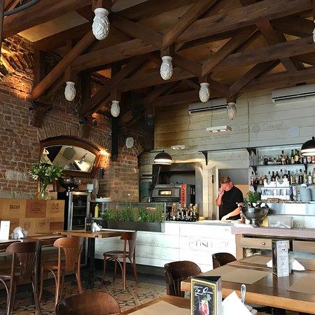 Boscaiola: Ristorante italiano a Cracovia consigliato per la cucina e la bella location