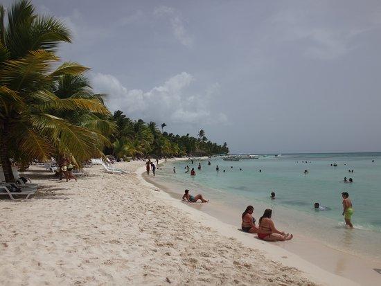 Isla Saona: Miejsce do relaksu po wyjściu z katamaranu