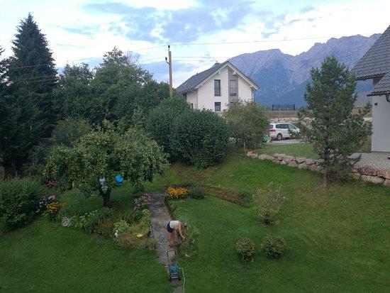 Bad Mitterndorf, Αυστρία: Вид из номера
